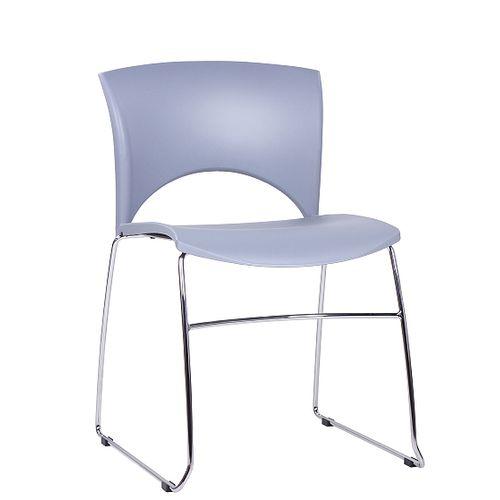 Kovové designové židle SOLE s možností stohování