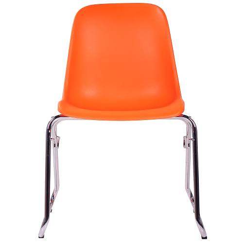 Plastové rokovacie stoličky kovová kostra
