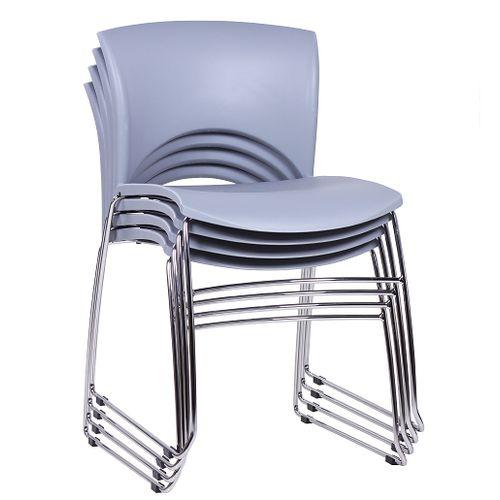 Stohovatelné koové židle