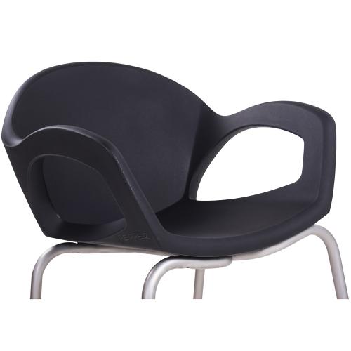 Designové plastové skořepinové židle
