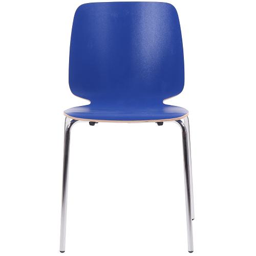 Kovové židle bistro s možností stohování