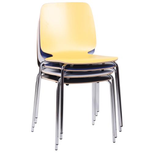 Kovové stoličky bistro s možnosťou stohovania