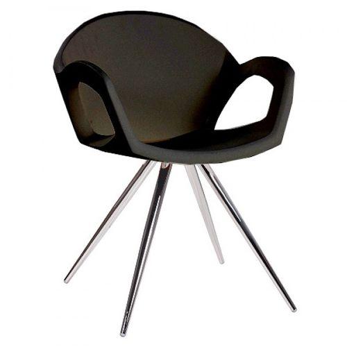 Dizajnové stoličky PEPPER SPIDER plastové s kovovou konštrukciou