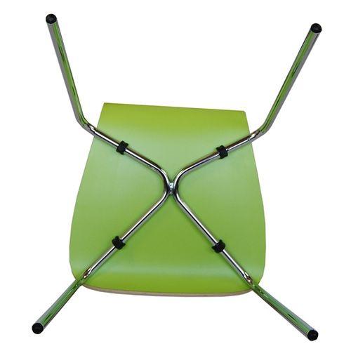 Kovové židle barevné