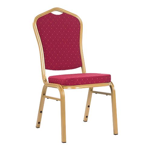 Kovové čalouněné židle pro bankety