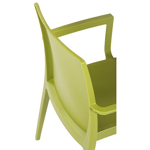Stohovatelné plastové židle