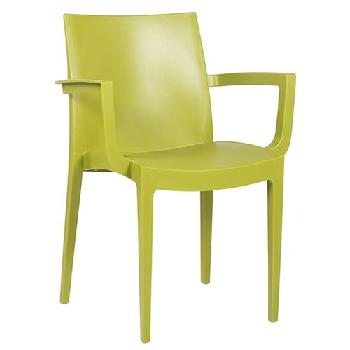 Plastové stoličky pre cukrárně