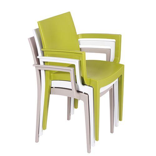 Plastové židle IKA AL