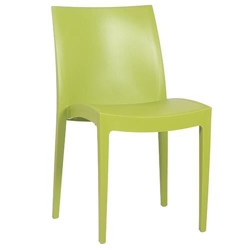 Plastové židle do cukrárny