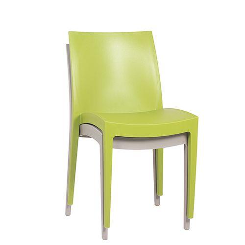 Plastové židle IKA možnost stohování