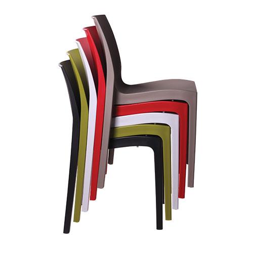Zahradbní plastové židle