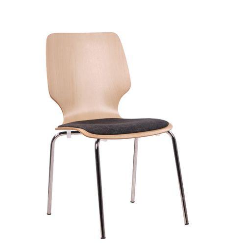 Jednací kovová židle COMBISIT F20