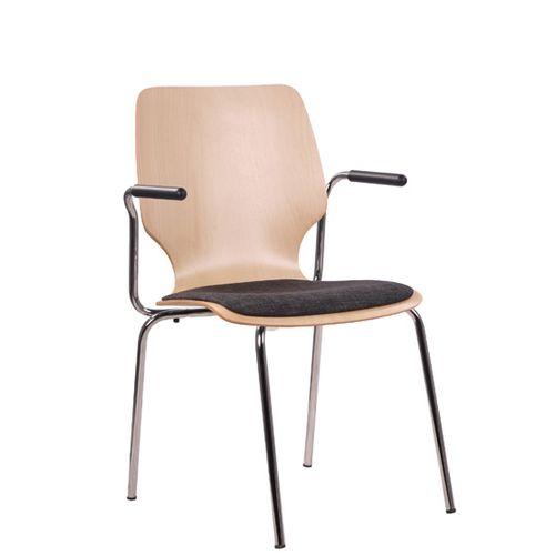 Jednací kovová židle COMBISIT E20