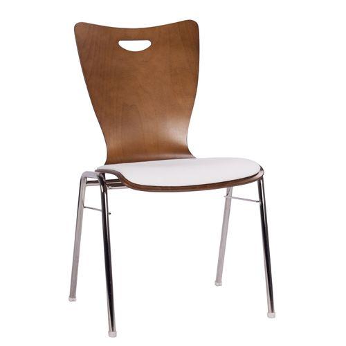 Kovová židle do bistro restaurace