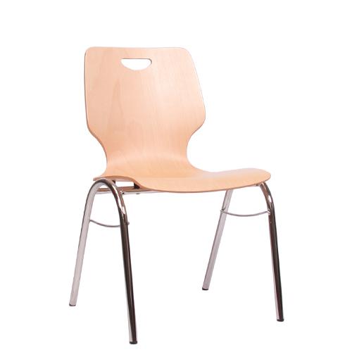 Jedancí kovová židle