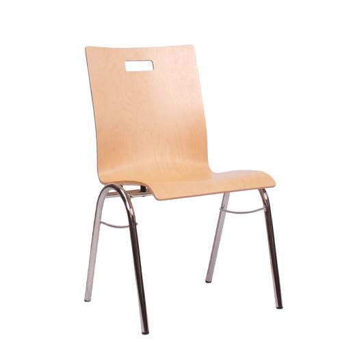 Kovové čalouněné židle do čekárny