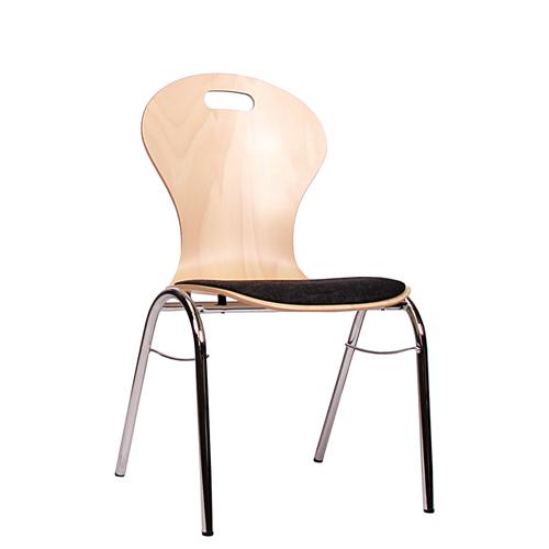 Kovové jednací židle COMBISIT B10