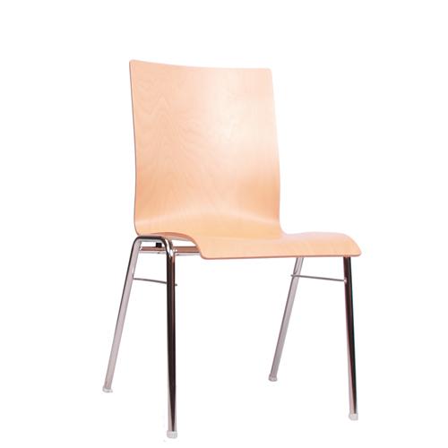 Kovová židle pro konference