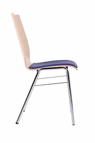 Kovové stoličky pre konferencie