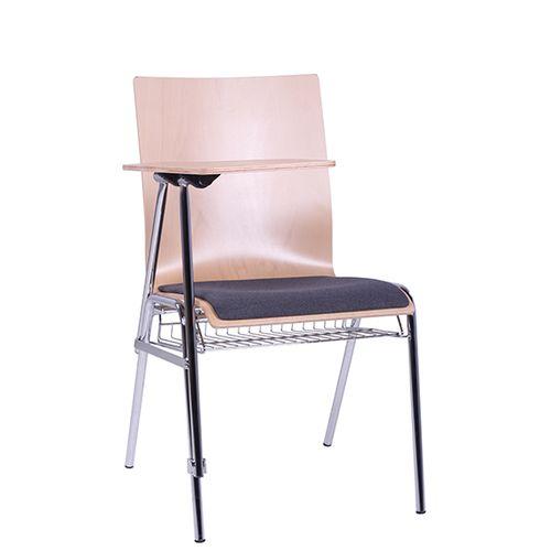 COMBISIT SEMINAR ER SP  kovové židle s psací podložkou