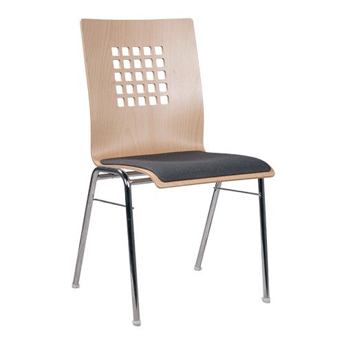 Kovové židle do jednacích sálů