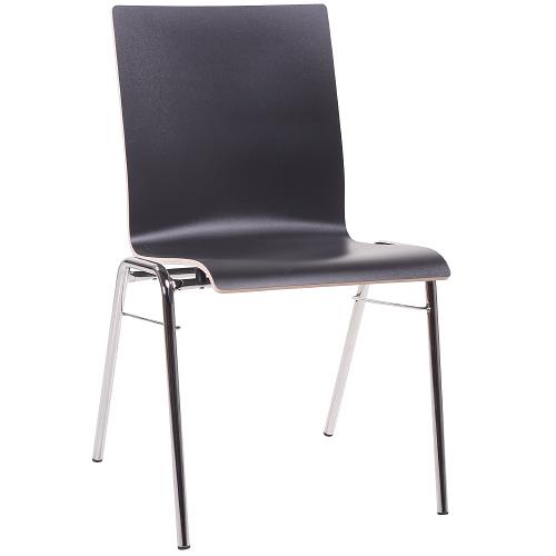 Konferenčné stoličky s odolným HPL sedákem