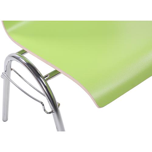 Stohovatelní židle s HPL sedákem