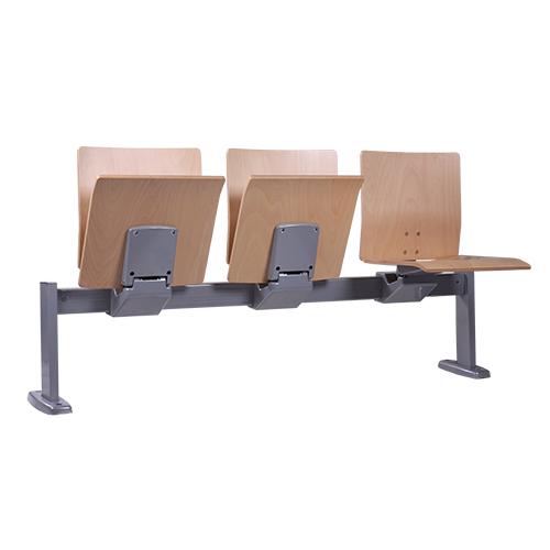 Sedací lavice FOLDEXA se sklápěcími sedáky