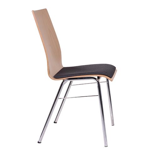 Kovové stoličky rokovacie