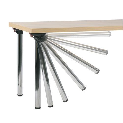 Sklapovací stoly FLEXA xxx43 chrom