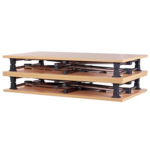 Kovoé skládací stoly pro konference
