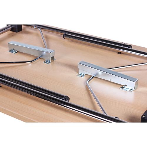 kovové skládací stoly