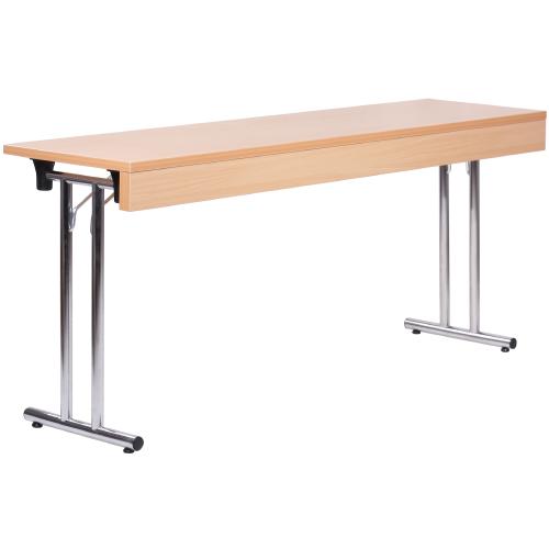 Kovové sklapovacie stoly dlhé