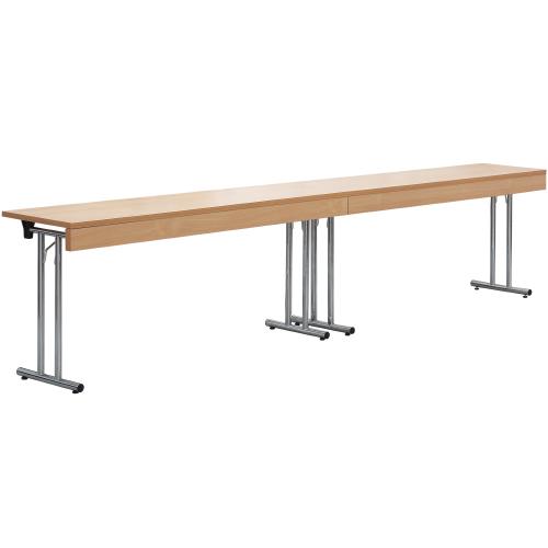 Dlouhé sklapovací stoly skládací
