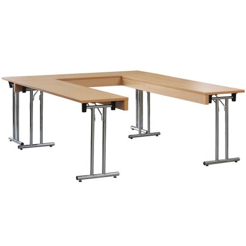 Sestavovací dlouhé sklapovací stoly