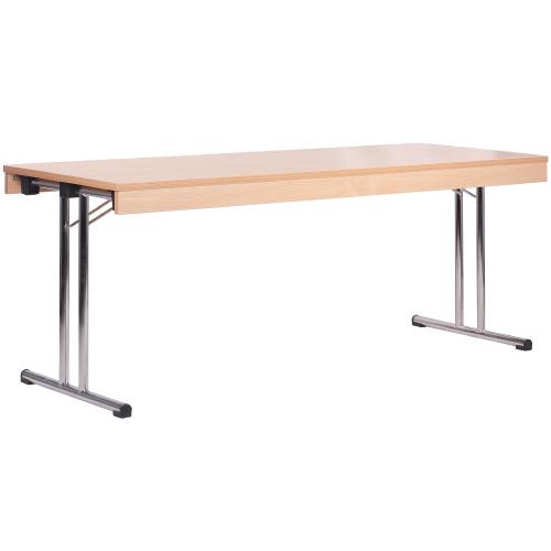 Skládací stoly se sklapovací nohou