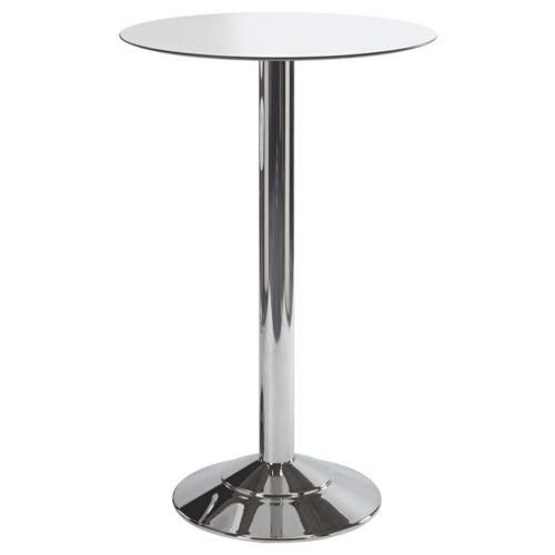 Kovové chromované barové stoly