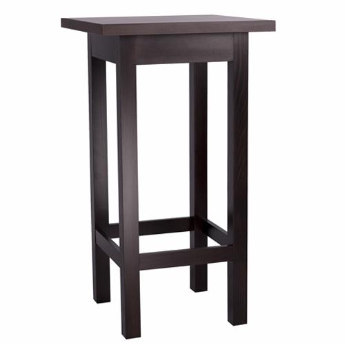 Dřevěné barové stoly do restaurace