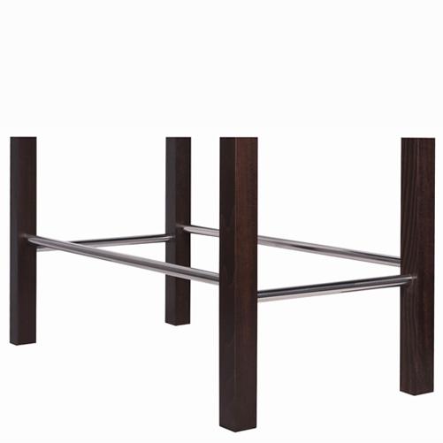 Nerezová konstrukce barových židlí