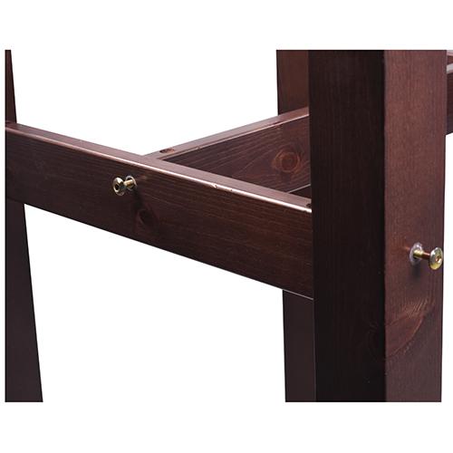 Barové stoly odolné masivní dřevo