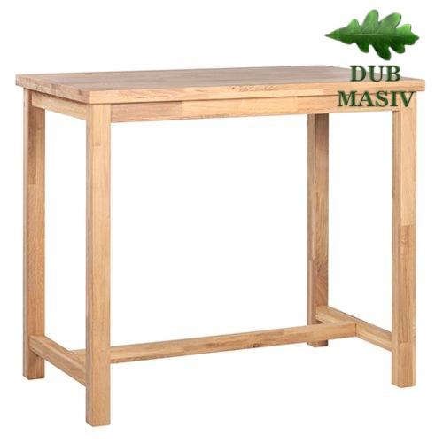 Dřevěné barové stoly ARKON 127 dub masiv