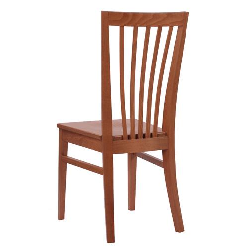 Dřevěné masivní židle