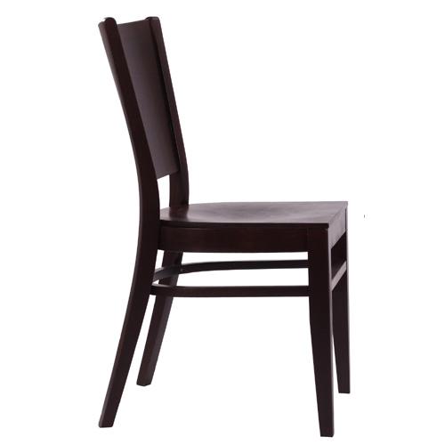 Dřevěné židle z ohýbaného masivního dřeva