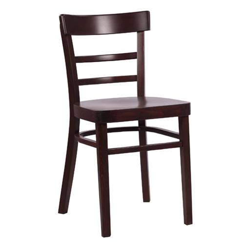 Dřevěné ohýbané židle dřevěný sedák