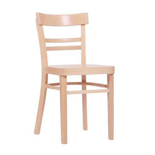 Dřevěné ohýbané židle restaurační
