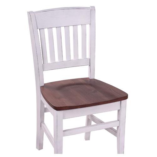 Dřevěné židle masivné borovice