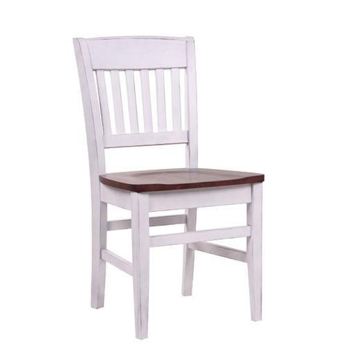 Dřevěná židle BEN V Vintage Look