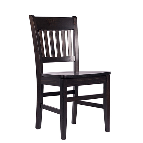 Restaurační židle dřevěný sedák