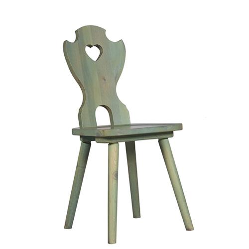 Židle masivní borovice