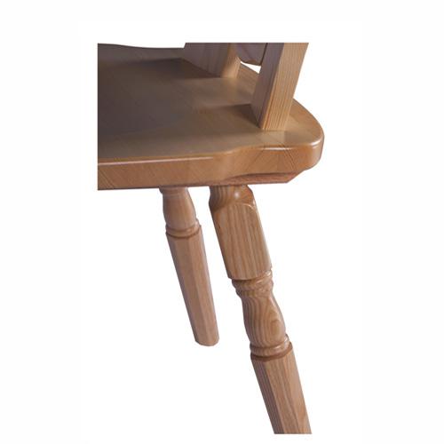 Nohy židle z masivní borovice
